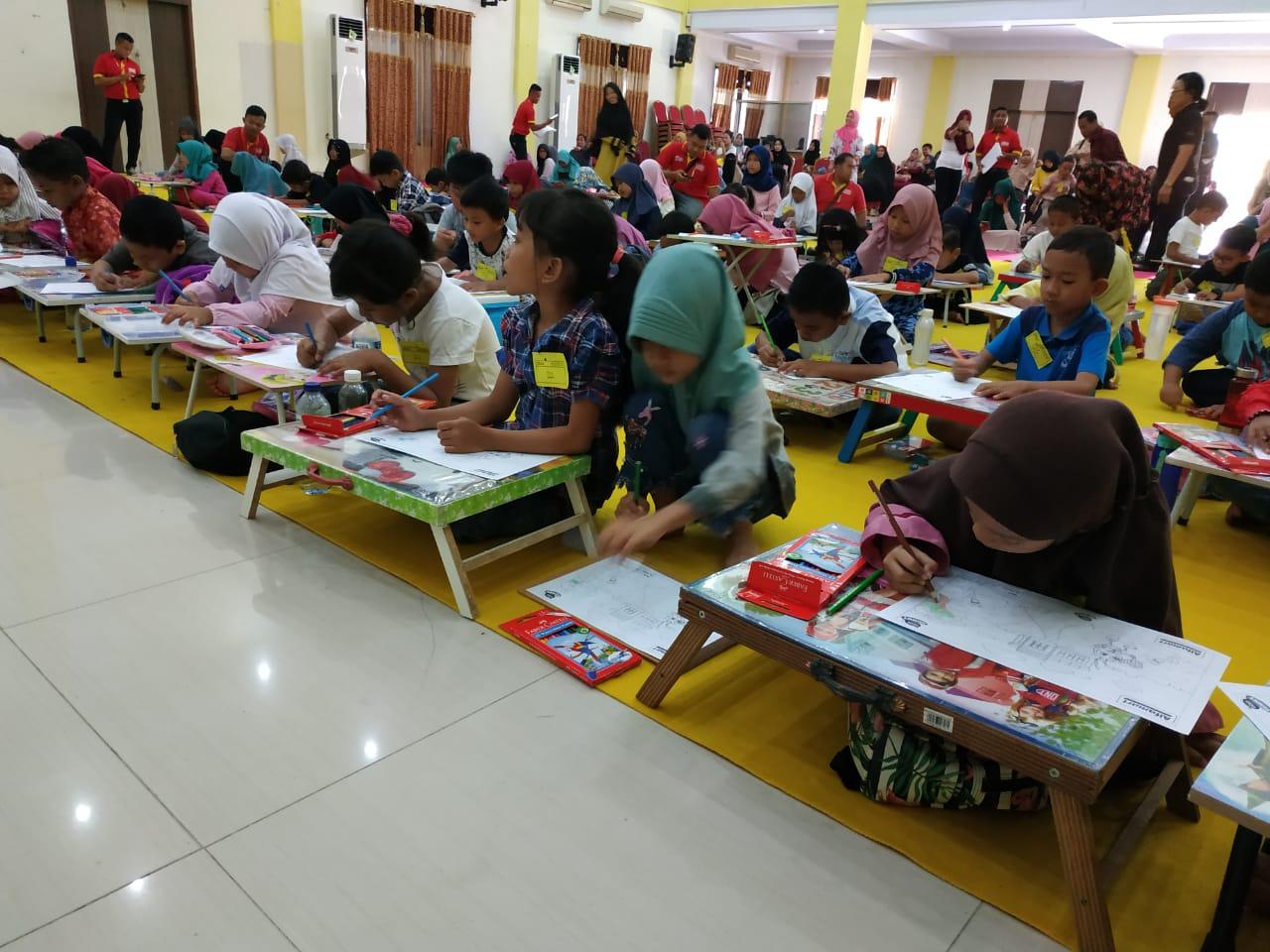 Tingkatkan Kreatifitas Siswa SD Di Gorontalo Alfamart